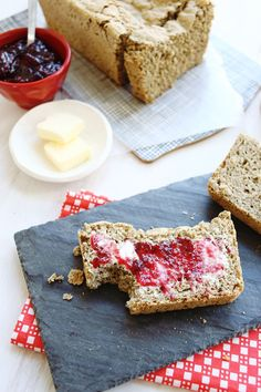 Bake a loaf of gluten-free bread using this easy recipe.