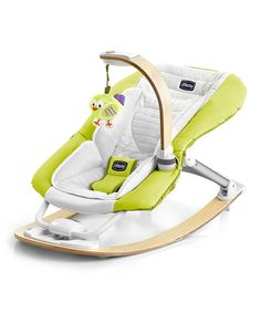 Look at this Chicco Lime I-Feel Rocker on #zulily today!