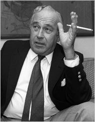 Robert Ludlum in 1986. Since his death in 2001, 12 books with his name have been released.