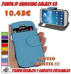 #funda #accesorios #samsung #moviles #carcasas #novedades #ofertas #descuentos Funda con identificador de llamadas para Samsung Galaxy S3. Fundas para móviles baratas con envío incluido. http://www.yougamebay.com/es/product/funda-protectora-de-cuero-marca-koobos-para-samsung-galaxy-s3--i9300-2