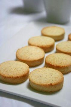healthier shortbread cookies with okara (soy dregs)