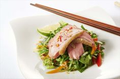 Duck Salad with a Hot