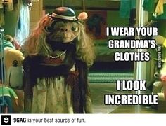 E.T. thrift shopping - Macklemore...... this is so creepy and yet hilarious!