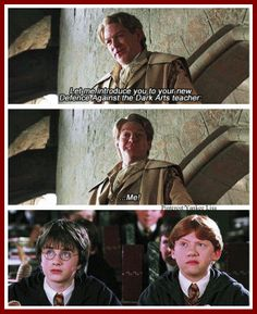 Ron's face lol