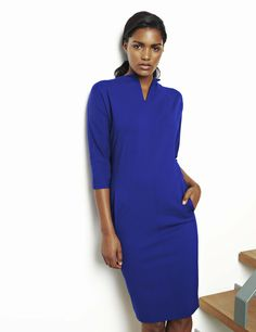 d15b8106227fa A new style to the Winser London best selling Miracle dress  Lauren Miracle  dress in Winser blue.