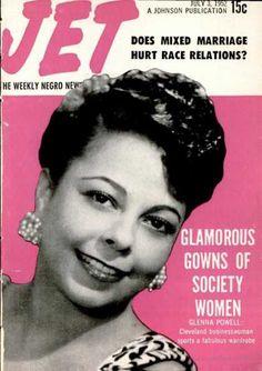 Jet Magazine Covers - Glenda Powell - July 3, 1952