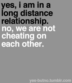 is my girlfriend cheating long distance relationship