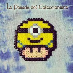 Minion Mushroom hama beads by laposadadelcoleccionista