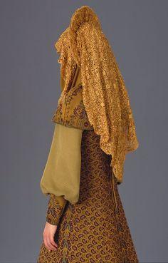 Padme Gold Travel Costume | Star Wars Episode II | Costume Design by Trisha Biggar