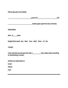Editable Tutor Forms {Black & White Chevron}, $5.00 Editable using ...