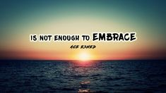 Ace Eshed ft. Inbal Yehiam - Is not enough to embrace (אסי אשד - לחבק זה...