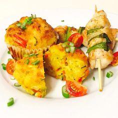 Da will man Gemüsepuffer mit Speck machen und promt switcht die Lust auf #Muffins - #Speck natürlich mit drin und ein #Mozzarella durfte auch nicht fehlen . #lecker #gaumenschmaus #getmyrecipe #delicious #megalecker #omnomnom #nomnom #lunch #kochblog