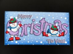 Xmas Christmas Snowman Money or Gift Wallet and Card - Photo by Valerie Spowart