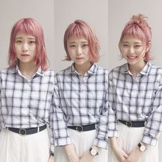 Before→After→Arrange . Japanese Hairstyles, Hair Styles, Instagram, Fashion, Hair Plait Styles, Moda, Japanese Hairstyle, Fashion Styles, Hair Makeup