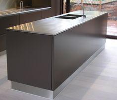 Kitchen Worktops | Stainless Steel Worktops | Stainless Direct UK