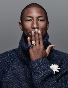 Pharrell Brings Signature Style to Harper's Bazaar Man Korea September 2015 Shoot Pharrell Williams, Harper's Bazaar, Engagement Photo Poses, Oval Engagement, The Fashionisto, Its A Mans World, Billionaire Boys Club, S Man, Studio Portraits