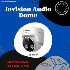 Jovision JVS-N925-HY Dome Audio Camera Best Price in Bangladesh   TRIMATRIK Dome Camera, Ip Camera, Cctv Camera Price, Digital Video Recorder, Wide Angle Lens, Security Camera, Audio, Backup Camera, Spy Cam