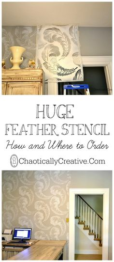 Feather Stencil How and Where to Order