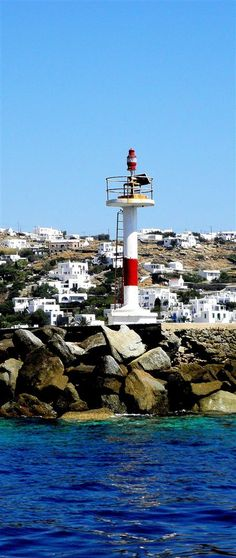 Harbour light in Mykonos port =============== Azamara Club Cruises - Greek Island Cruise July 2015  =============== Looking for a river cruise/travel agency in Brampton?  Call Cruise Holidays | Luxury Travel Boutique. 855-602-6566  905-602-6566  http://luxurytravelboutique.cruiseholidays.com/