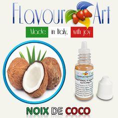 E-Liquide saveur Noix de Coco de Flavour Art sur Top Cigarette Electronique