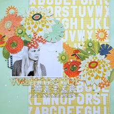 flowery_scrapbooking_page