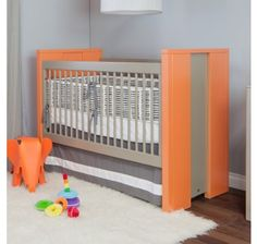 The Cody Crib is the keystone of any modern nursery. Featuring a profound design, the Cody Crib is a fine fit for the contemporary nursery. We make our cribs to adhere to the highest safety standards.  Your Cody Crib will shine with an accent color! Choose from over 30 different colors and stains to customize your piece to your unique personality.