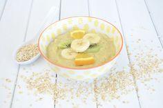 Fruit & Oat Smoothie Bowl - Baby Food Recipe