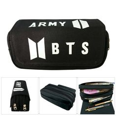 BTS accessories are the best and the most subtle way to show your love for the band and we've got everything to help you complete your perfect fan look. Our bracelets, necklaces and earrings go perfectly with all our other apparel. Discount Online Shopping, Pen Collection, Bts Merch, Photo Holders, Canvas Size, Free Gifts, Stationery, Card Holder, Pencil