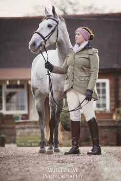 Rebecca FC looking gorgeous in her TF Catherine Jacket and Pink earwarmers
