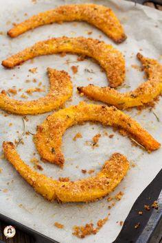 Zucca al forno gratinata Veggie Recipes, New Recipes, Vegetarian Recipes, Favorite Recipes, Learn To Cook, Tasty Dishes, Fett, Food Hacks, I Foods