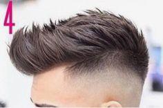 Mens Haircuts Short Hair, Mens Medium Length Hairstyles, Mens Hairstyles With Beard, Quiff Hairstyles, Hair And Beard Styles, Short Hair Cuts, Short Hair Styles, Drop Fade Haircut, Messy Haircut