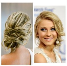 Perfect hairstyle if you want to feel glamorous!