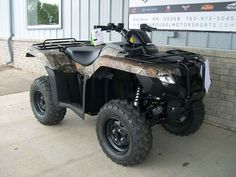 New 2016 Honda FourTrax® Rancher® 4x4 ES ATVs For Sale in Minnesota. GET THIS NEW 2016 HONDA RANCHER IN CAMO NOW ON SALE FOR $ 6,295.00 AT CAROUSEL MOTORSPORTS IN DELANO! MSRP is $ 6,899.00 + $ 350.00 destination charge on this model, TREX420FE1. Manufacturer allows advertising only MSRP. Please call for competetive price!! The Honda Rancher is the ATV that knows how to work and knows how to have fun. Tough camo finish on this one! The Honda Rancher features Honda's 420 cc fuel injected…