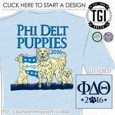 TGI Greek- Phi Delta Theta- Greek Apparel #PhiDeltaTheta #PhiDelt #Philanthropy