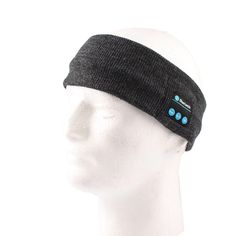 Bluetooth Music Sports Headband with Mic, Built-in Removable Wireless Stereo Headphone Knit Sleeping Headband - Dark Grey. FASHION & WARM: Knitted design, very fashion while keep warm in winter. WASHABLE: The inside module can be taken out when you wash the headband. SIZE: Perfect for head circumference from 17 ft to 26.5 ft (45-68 cm). No matter you are adults or kids. RECHARGEABLE: Built-in Li-ion chargeable battery, long stand-by time, can be charged via included USB cable. HANDS FREE:...