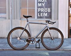KAGERO FIXED GEAR BICYCLE FRAMESET