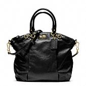 MADISON LEATHER LINDSEY SATCHEL - too small for laptop