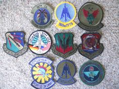 10 DIFF MILITARY PATCHES-LOT 18