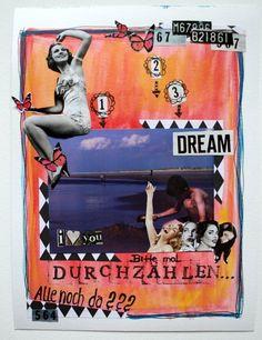 Art Journaling on the go von Brit   www.danipeuss.de