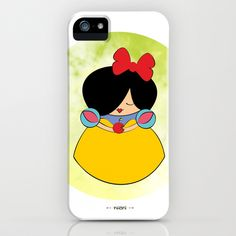 Snow white iPhone & iPod Case by Nhani · Graphic Design & Photography - $35.00