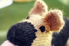 Knit Your Own Dogs pattern