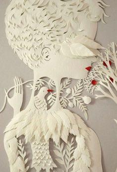 Удивительные бумажные скульптуры от Elsa Mora (Эльза Мора)   Молодежный портал