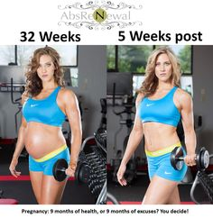Pregnancy: 9 months of health, or 9 months of excuses? You decide!