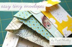 Because I Saw It On Pinterest: Cutesy Envelopes