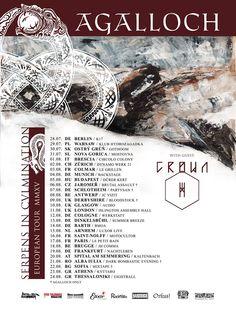 Agalloch EU Tour 2015 #Agalloch
