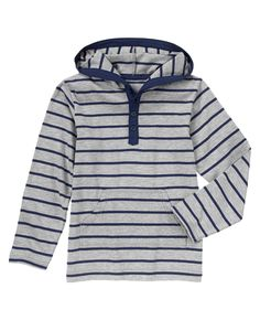Striped Hooded Henley at Gymboree (Gymboree 3-12y)