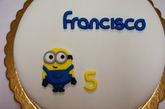 Menina Framboesa: Minions cake