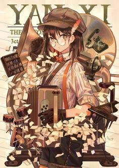 images for anime art Kawaii Anime Girl, Manga Anime Girl, Anime Girls, Art And Illustration, Character Illustration, Cute Anime Character, Character Art, Graphisches Design, Art Manga