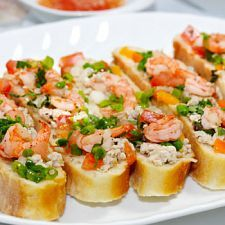 Shrimp Butter Appetizer | When you're hungry for an appetizer that is shrimply irresistible, look to this scrumptious spread. The best thing since sliced bread is sliced bread with shrimp butter. Prepare it just once and you're certain to have it down pat. | From: mydailymoment.com