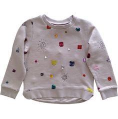 Nonna Bambini - Stella McCartney Kids Primrose Girls Sweatshirt with Jewels, $90.00 (http://www.nonnabambini.com/stella-mccartney-kids-primrose-girls-sweatshirt-with-jewels/)